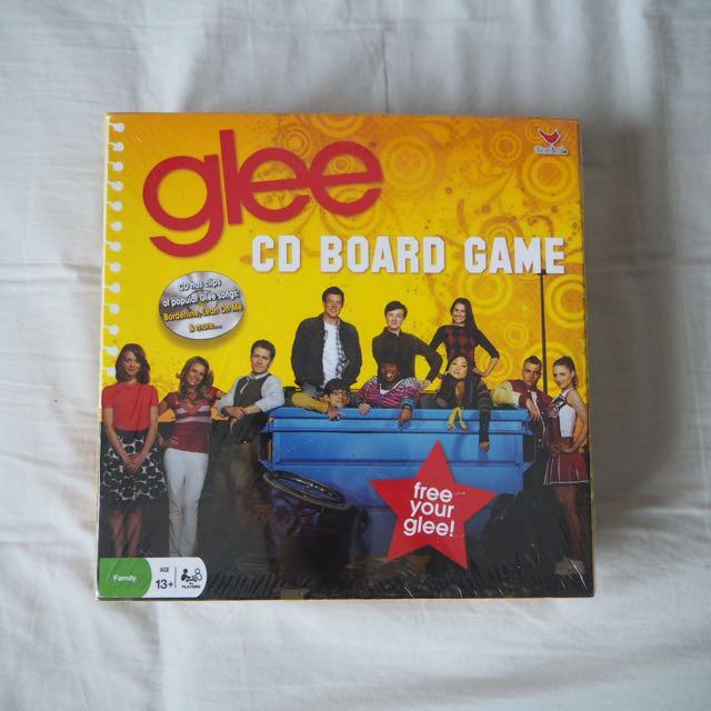 GLEE CD Board Game NEW