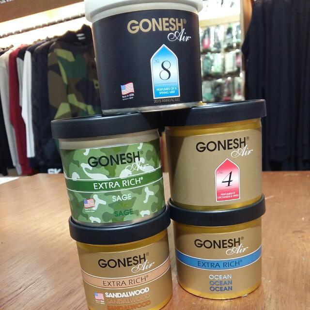 GONESH 日本空氣芳香膠