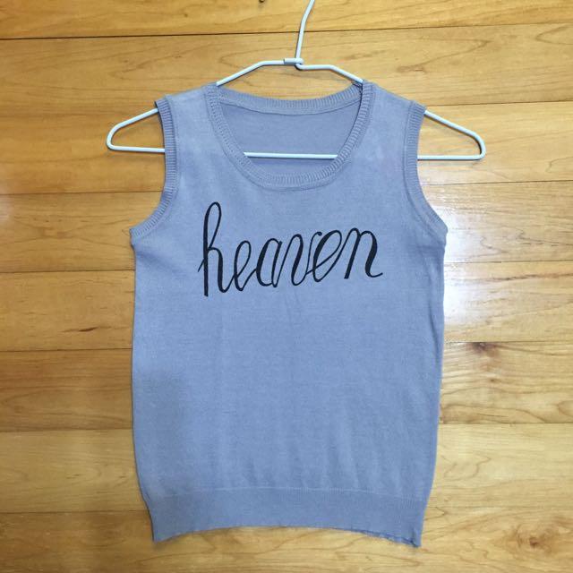 Heaven針織背心
