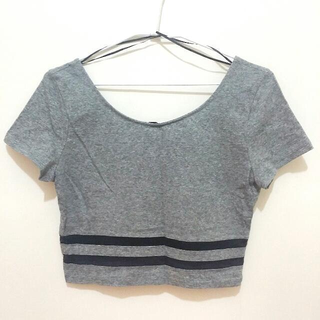 (全新)H&M短版上衣