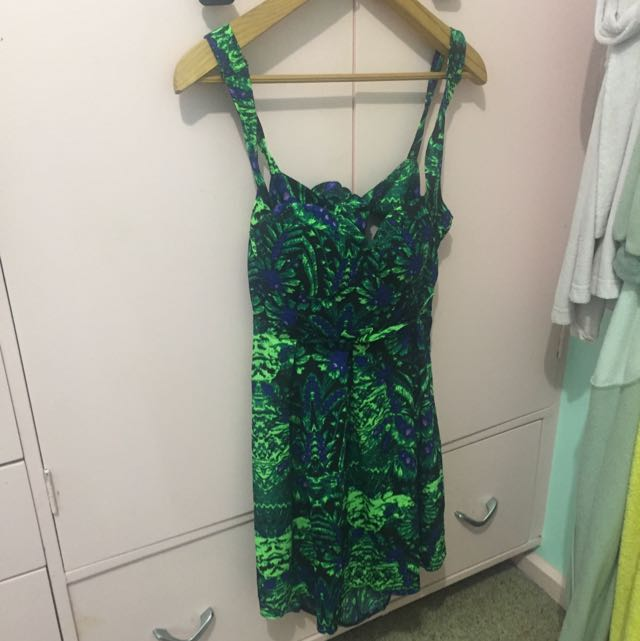 ICE dress Bright Coloured