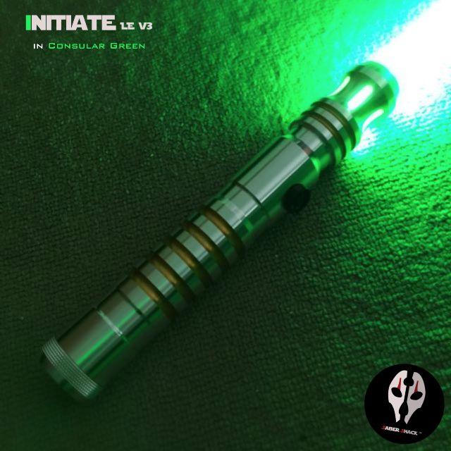 initiate v4 le dueling lightsaber w obsidian sound