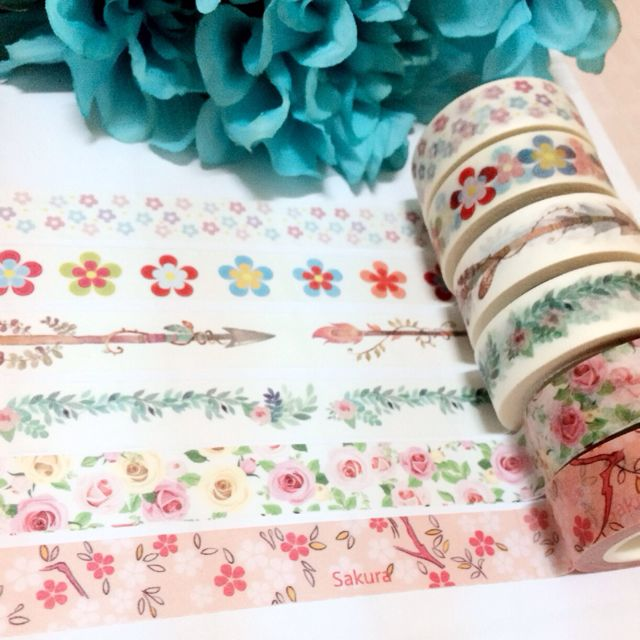 [INSTOCK] Floral Washi Collection I