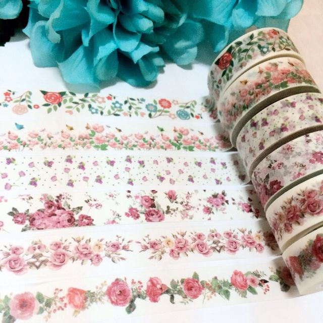 [INSTOCK] Floral Washi Collection II