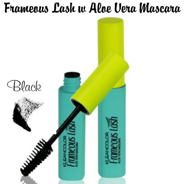 d74eb637e35 Instocks] KLEANCOLOR Frameous Lash-Oil-based Mascara w/ Aloe Vera ...