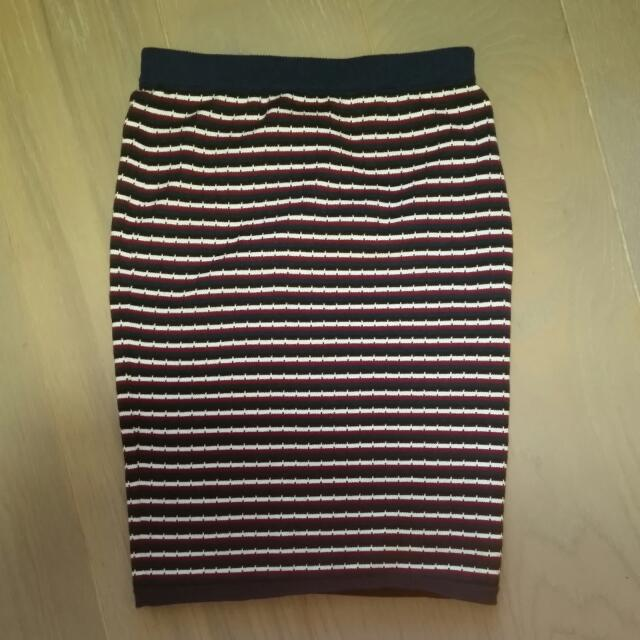 Knitted pencil skirt size8