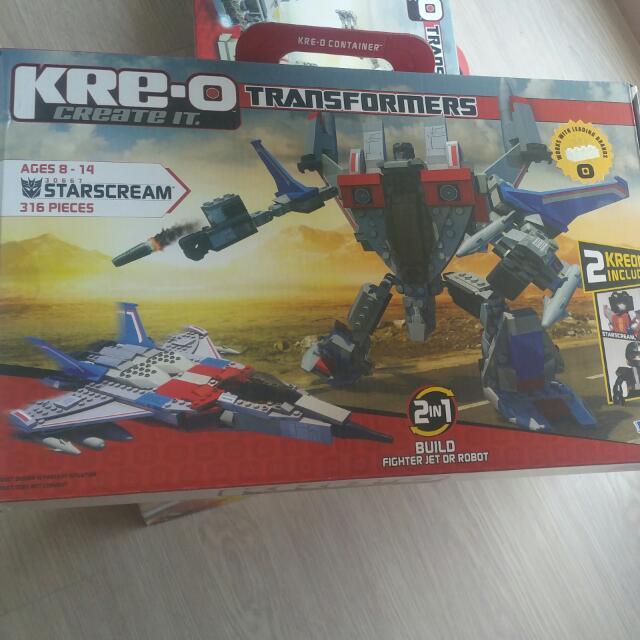 Kreo Transformers 30667 Starscream