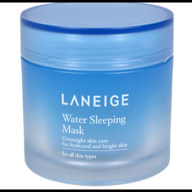 LANEIGE蘭芝 睡美人香氛水凝膜(15ml)-淨亮保濕升級版