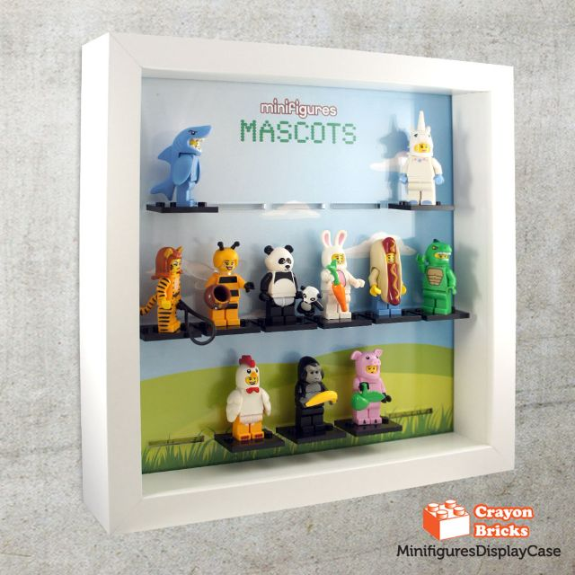 LEGO CMF Mascots series Minifigures Minifigs Display Solution for ...