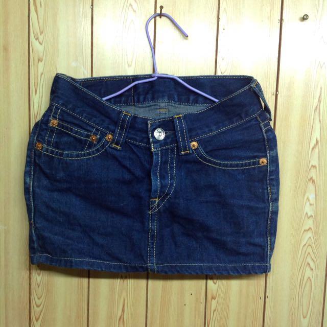 Levi's 牛仔短裙