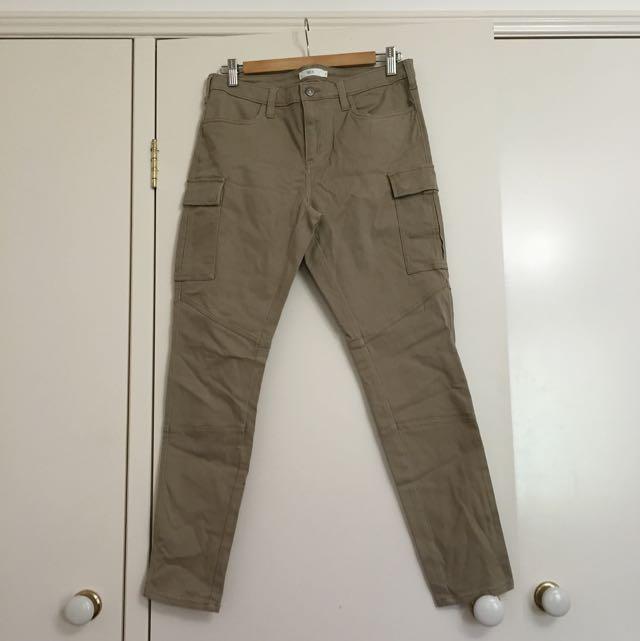 Light Brown Cargo Pants