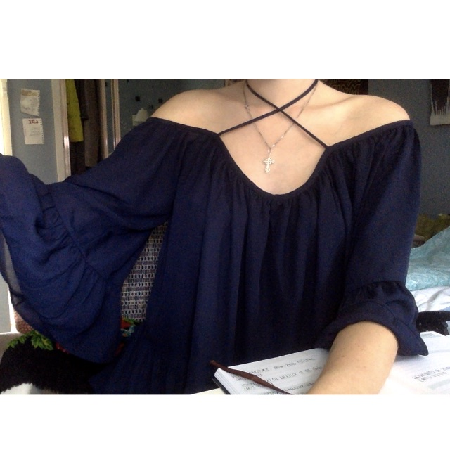 LUCK AND TROUBLE witchy top