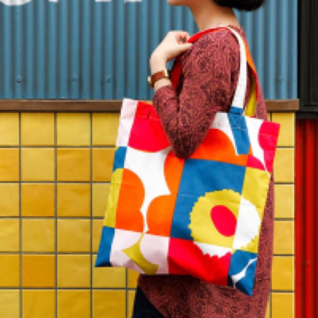 Marimekko 花花購物袋