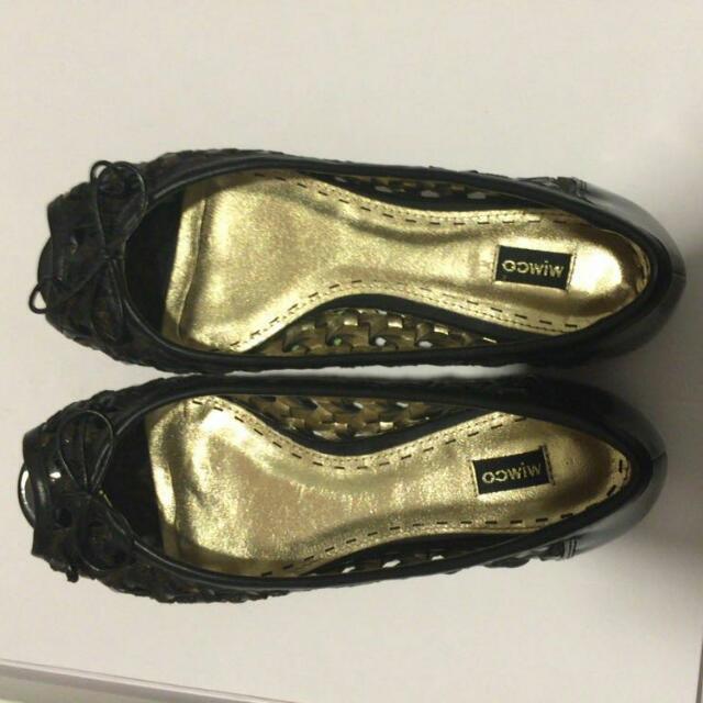 Mimco Shoes 38 EU flats 7.5 US