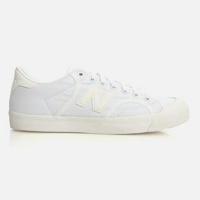 New Balance Proctsaa 帆布鞋 白