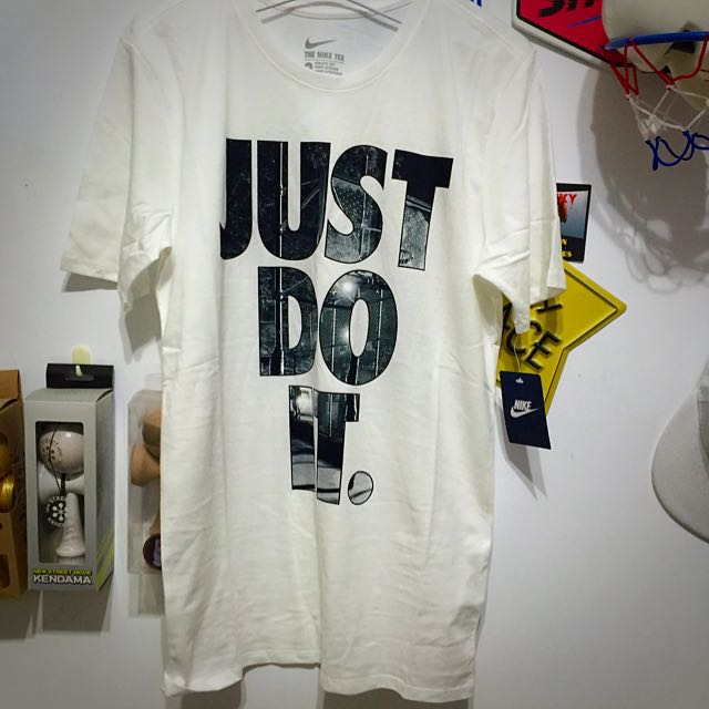 Nike Just Do IT 短袖 白