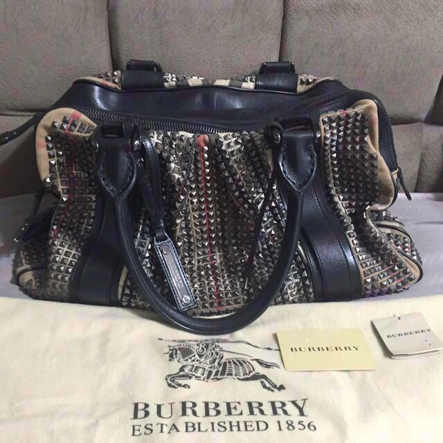 Rare!! Preloved Burberry Prorsum Knight Studded Bag 8a8fe4aabe1fe