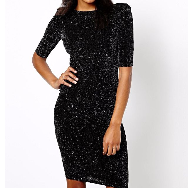 River Island black dress