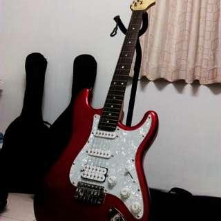 電吉他 紅色