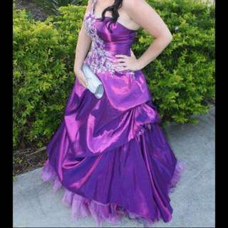 Formal Dress; Purple.