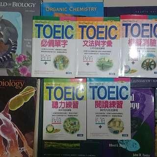 三思堂出版-Toeic測驗系列共五本,可單買或合購,五本一起只要500元