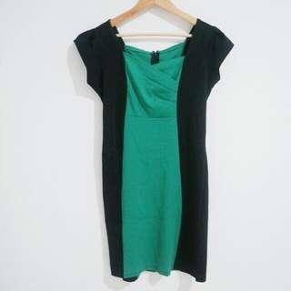 Preloved - Green Bodycon Dress