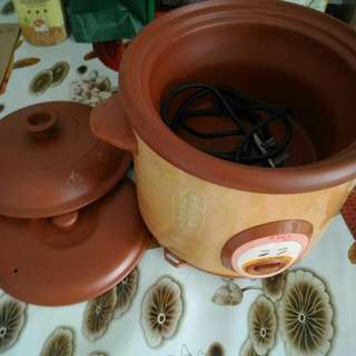 IONA purple clay rice cooker