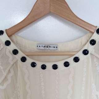 Katherine 100% Silk Dress Sz 8