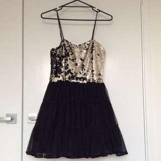 Piper Lane Sequence Dress Sz 12