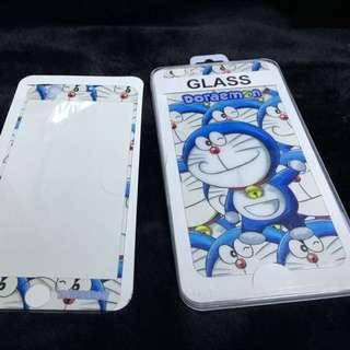Iphone6+plus版 哆啦A夢 Hellokitty雙面雷射玻璃保護貼