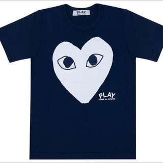CDG Comme Des Garcons Blue Tshirt