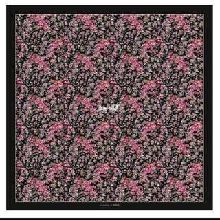 COACH 印花絲巾
