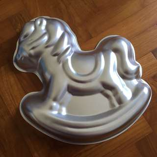 12 Inch Rocking Horse Cake Pan