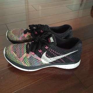二手 Nike Lunar3 編織 彩虹 運動鞋