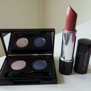 Elizabeth Arden Eye Pallette And Lipstick Set..