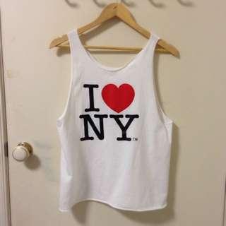 I ❤️ NY Custom Top