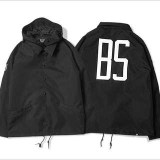 B-side教練刺繡外套L號 9成