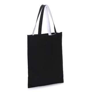 [全新]文清風純黑手提袋