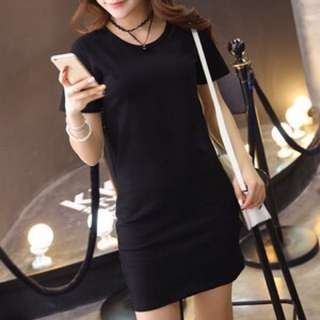 Stretchable T Shirt Dress