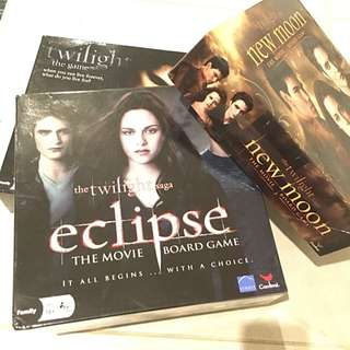 3 X Twilight Board Games