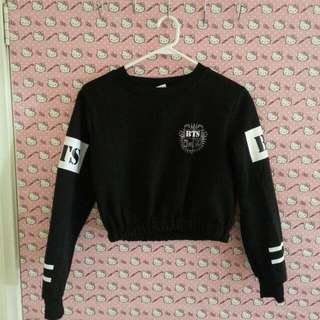 [PENDING] BTS J-HOPE CROPPED SWEATER SIZE XS
