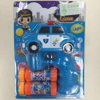 警車電動泡泡槍(2支250)