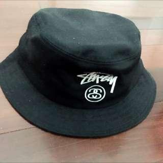 Stussy漁夫帽 漁夫帽 Stussy 黑 帽子