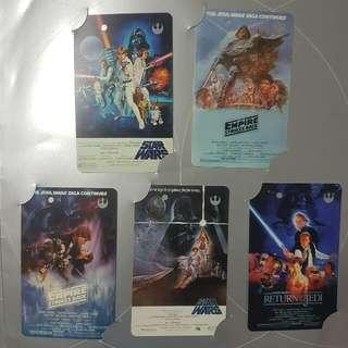 Starwars Old SMRT cards