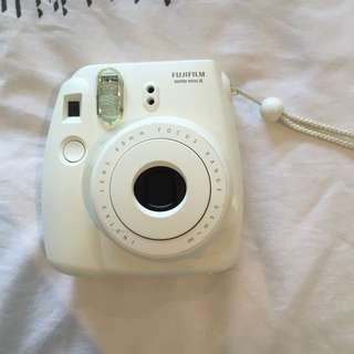 Fujifilm Polaroid White Camera And Film
