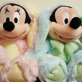 日本迪士尼限定米奇米妮復活節款