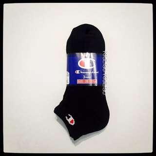 正品 Champion 低筒襪 毛巾底 厚底 重磅 三雙ㄧ組