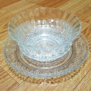 5入 精緻雕花杯盤組 甜點杯盤
