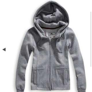 Roush灰色刷毛外套