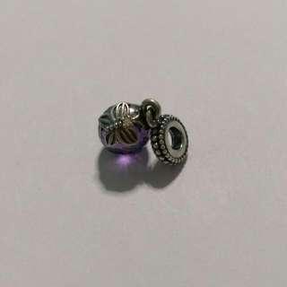 Authentic Pandora Purple Butterfly Charm